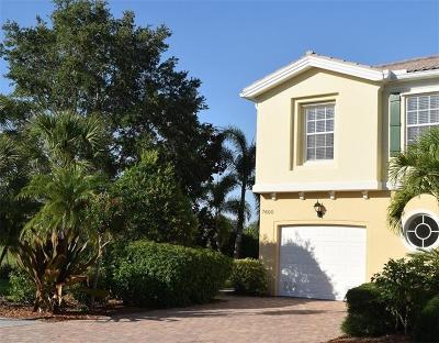 Sarasota Townhouse For Sale: 7600 Bergamo Avenue
