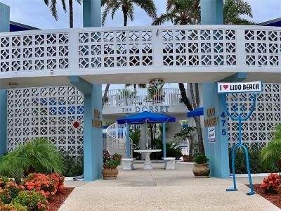 Lido Key Condo For Sale: 475 Benjamin Franklin Drive #209
