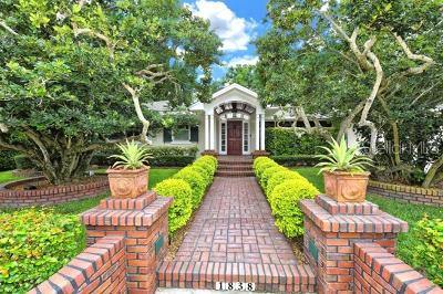 Sarasota Single Family Home For Sale: 1838 Alta Vista Street