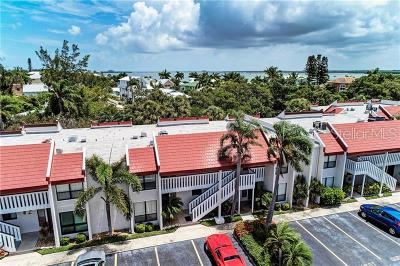 Bradenton Beach Condo For Sale: 1801 Gulf Drive N #254