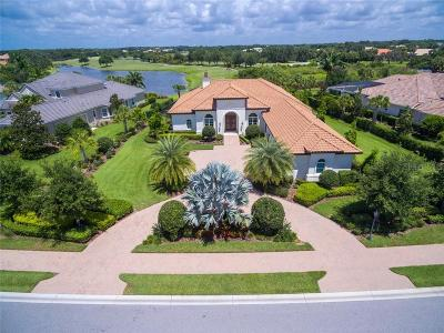 Sarasota Single Family Home For Sale: 3331 Founders Club Drive