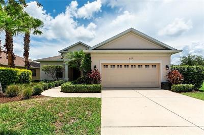 Bradenton Single Family Home For Sale: 239 Dahlia Court