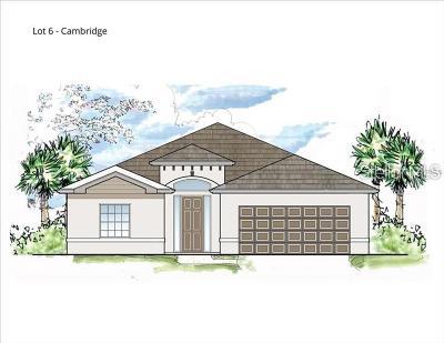 Sarasota Single Family Home For Sale: 5716 Magnolia Ridge Place