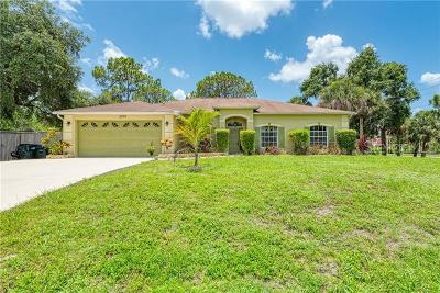 North Port Single Family Home For Sale: 2979 Ida Lane