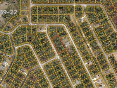 North Port Residential Lots & Land For Sale: Hanford (Three Lots) Lane