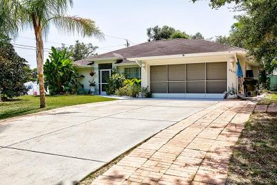 North Port Single Family Home For Sale: 4499 Hamwood Street