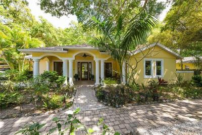 Sarasota Single Family Home For Sale: 3224 Bay Shore Road