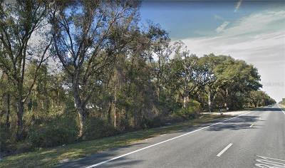 Webster Residential Lots & Land For Sale: 11160 Us 301