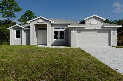 North Port Single Family Home For Sale: 3093 S Haberland Boulevard