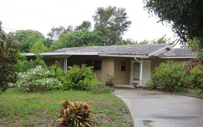Sarasota Single Family Home For Auction: 2529 Ridge Avenue