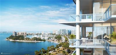 Sarasota Condo For Sale: 605 S Gulfstream Avenue #8S