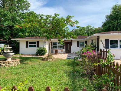 Sarasota Single Family Home For Sale: 2760 Wood Street