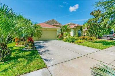 Ruskin Single Family Home For Sale: 1632 Bonita Bluff Court