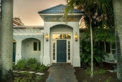 Sarasota Single Family Home For Sale: 296 Island Circle