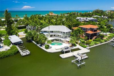 Single Family Home For Sale: 430 Casey Key Road