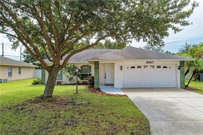 Bradenton FL Single Family Home For Sale: $249,900