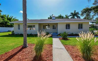 Sarasota, Lakewood Ranch Single Family Home For Sale: 3135 S Osprey Avenue