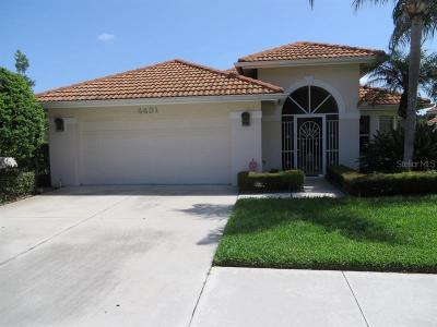 Sarasota Single Family Home For Sale: 4431 Deer Trail Boulevard
