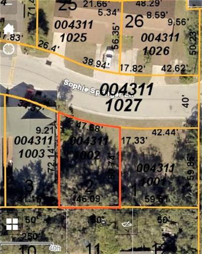 Sarasota Residential Lots & Land For Sale: 2293 Sophie Springer Lane #2