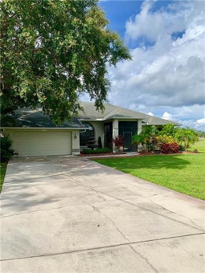 Punta Gorda Single Family Home For Sale: 17425 Muscat Lane