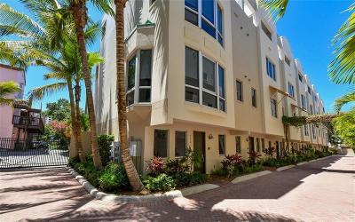 Sarasota Townhouse For Sale: 235 Cocoanut Avenue #113C
