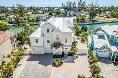 Anna Maria FL Single Family Home For Sale: $2,195,000