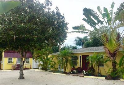 Venice Single Family Home For Sale: 350 Magnolia Road