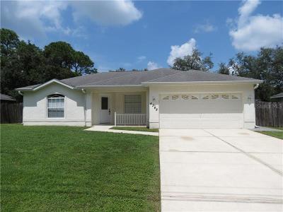North Port Single Family Home For Sale: 4368 Sunburst Avenue
