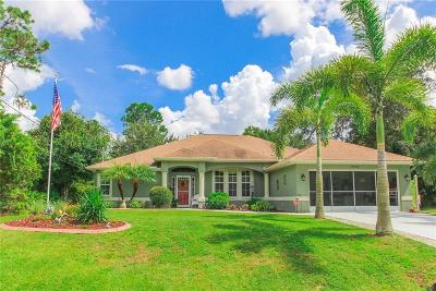 North Port Single Family Home For Sale: 1648 Dinsmore Street