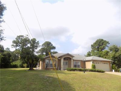 North Port Single Family Home For Sale: 5558 Fairlane Drive