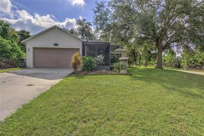 North Port Single Family Home For Sale: 3616 Danbury Terrace