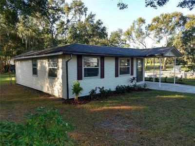 Bartow Single Family Home For Sale: 705 W Vine Street