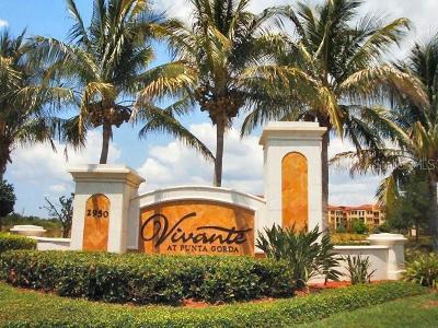 Punta Gorda Rental For Rent: 97 Vivante Boulevard #9726