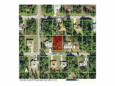 Port Charlotte Residential Lots & Land For Sale: 18366 Avon Avenue