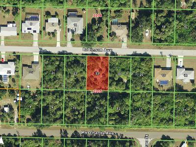 Port Charlotte Residential Lots & Land For Sale: 18227 Robinson Avenue