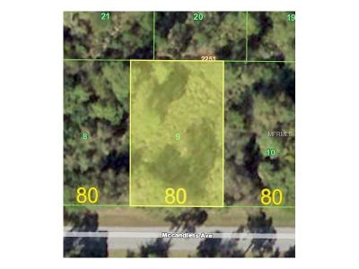 Port Charlotte Residential Lots & Land For Sale: 23422 McCandless Avenue