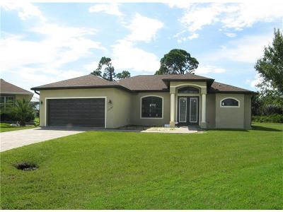 Punta Gorda Single Family Home For Sale: 25490 Taltal Drive