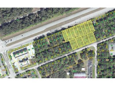 Port Charlotte Residential Lots & Land For Sale: 1464 El Jobean Road