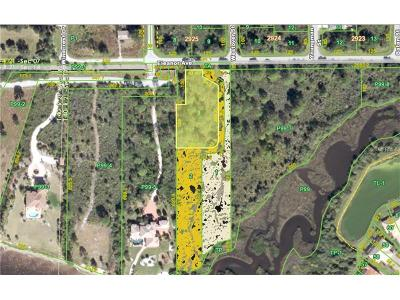 Port Charlotte Residential Lots & Land For Sale: 13137 Eleanor Avenue