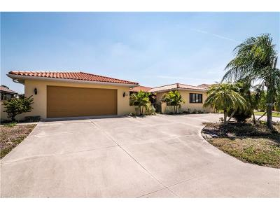 Punta Gorda Single Family Home For Sale: 1212 Spanish Cay Lane