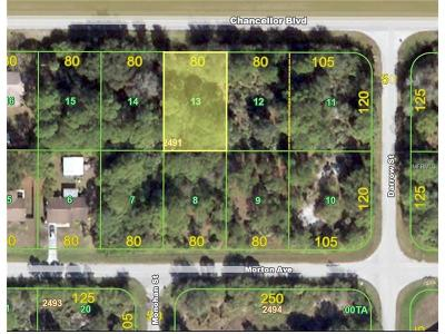 Residential Lots & Land For Sale: 12251 Chancellor Boulevard