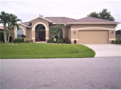 Port Charlotte Single Family Home For Sale: 5082 Ackley Terrace