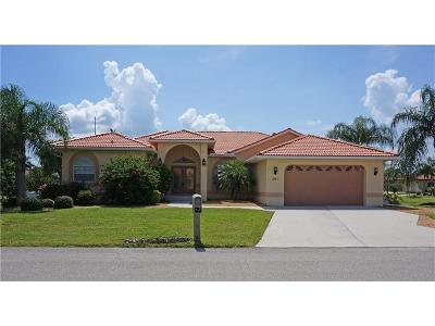 Punta Gorda Single Family Home For Sale: 201 Lido Drive