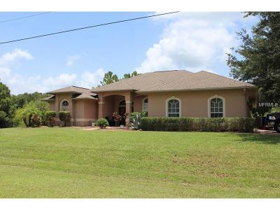 North Port Single Family Home For Sale: 2459 Johannesberg Road