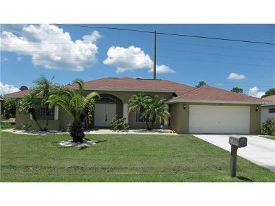 Punta Gorda Single Family Home For Sale: 7341 N Seagrape Road