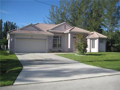 Port Charlotte FL Single Family Home For Sale: $370,000