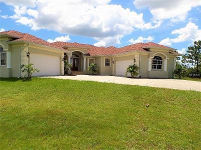 Punta Gorda Single Family Home For Sale: 18001 Prairie Creek Boulevard