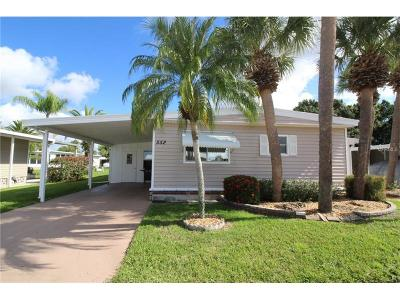 Port Charlotte FL Mobile/Manufactured For Sale: $119,000