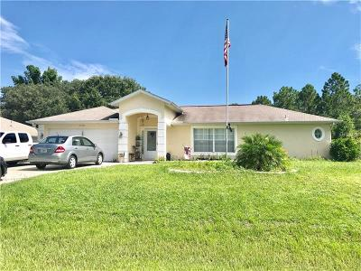 North Port Single Family Home For Sale: 2768 Algardi Lane