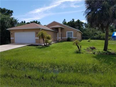 Port Charlotte Single Family Home For Sale: 5457 Kennel Street